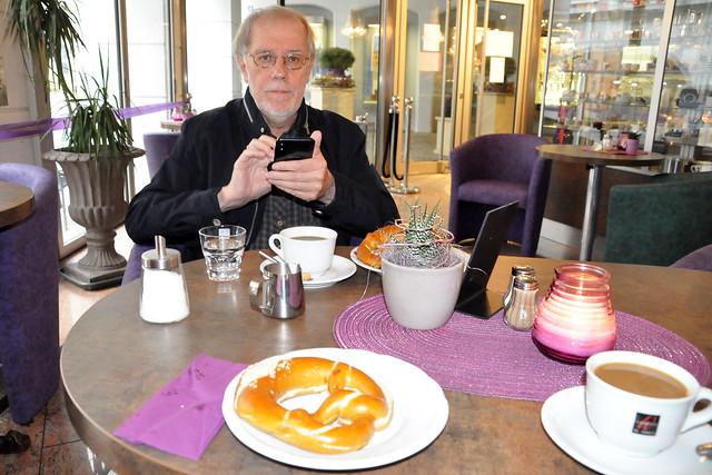 Butterbrezel im Cafe Bistrot Bienvenue in Memmingen_2_Brigitte Stolle