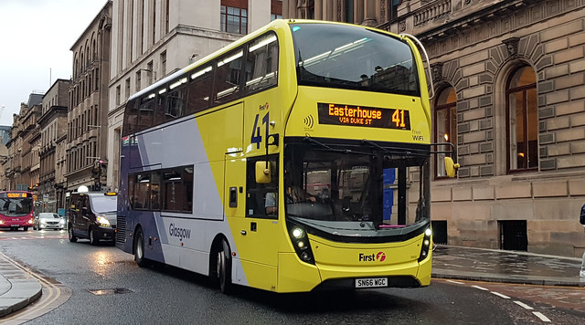 First Glasgow Alexander Dennis Enviro 400 MMC 33432 Route 41