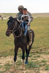 Buzkashi Rider and Son 1a