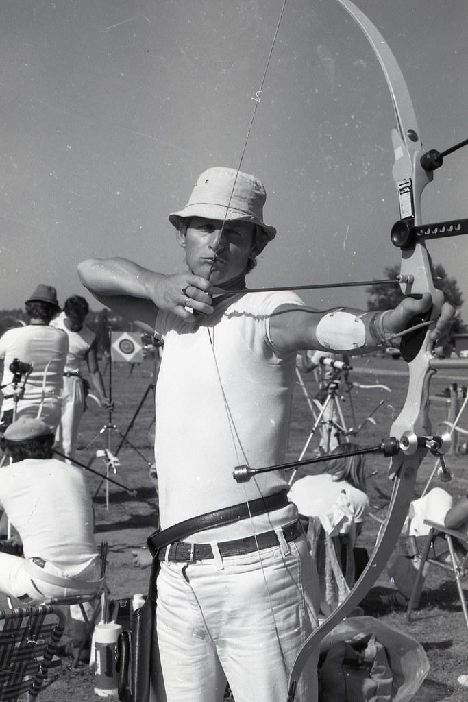 Moorabbin Archery Club 1980 Victorian Archers Bruce Logan 767