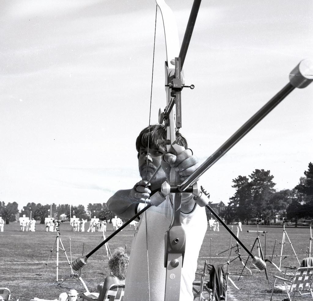 Moorabbin Archery Club 1980 Victorian Archers Mike Jennings 783