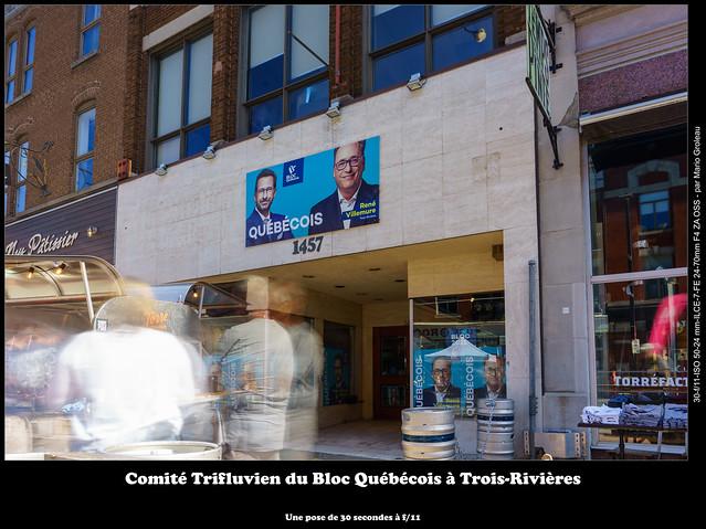 Comité Trifluvien du Bloc Québécois à Trois-Rivières