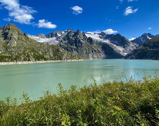 Albigna lake, Bregaglia/Bergell, Graubünden, Switzerland