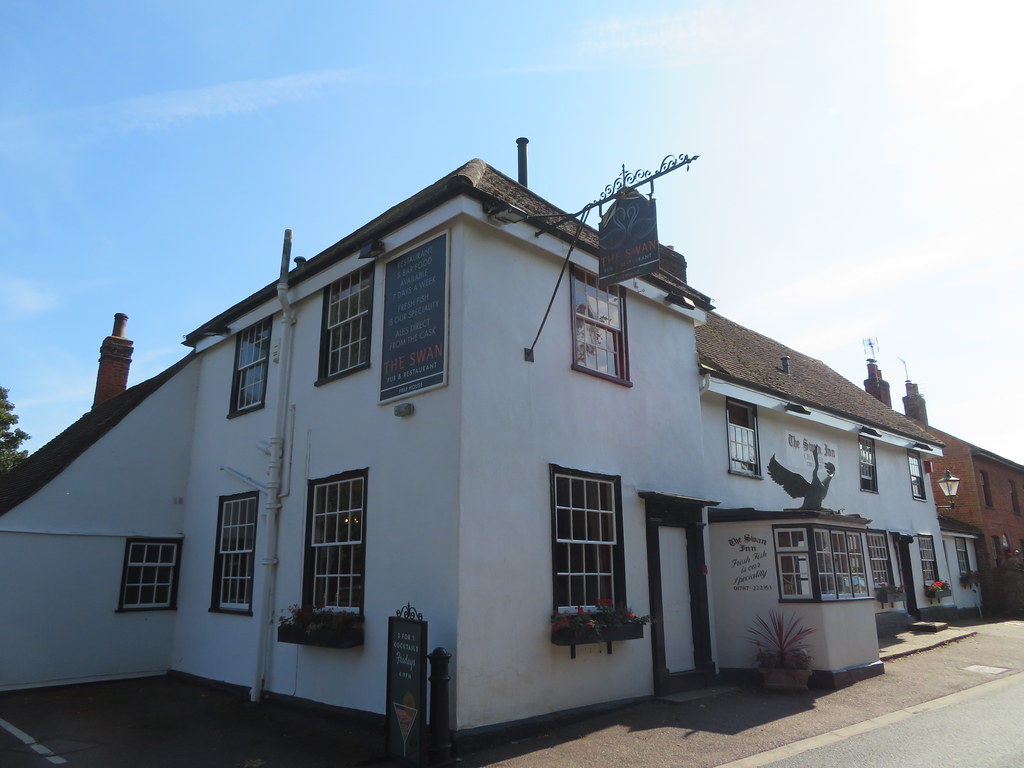 UK - Essex - Chappel - Swan pub