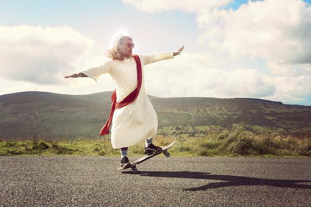 262/365 - Jesus on board