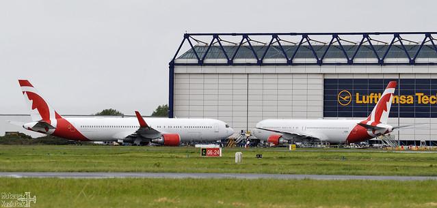 Air Canada Rouge 🇨🇦 Boeing 767-300 C-GHLQ / N216DP
