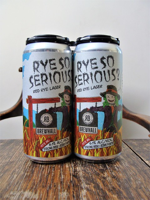 Rye So Serious Red Rye Lager