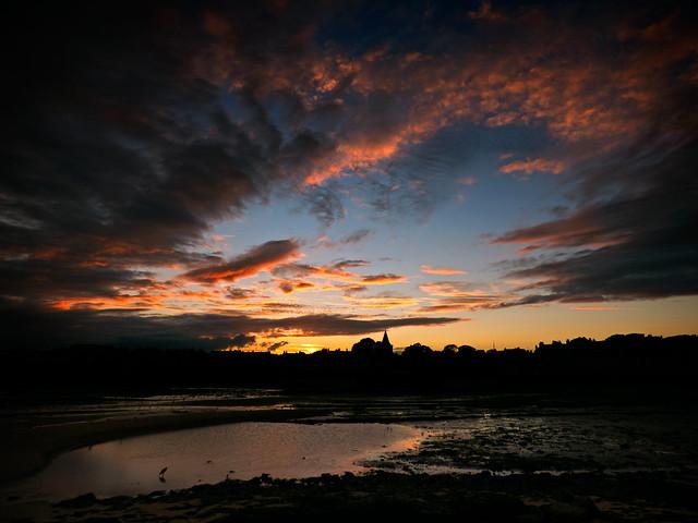 Sunset in the East Neuk
