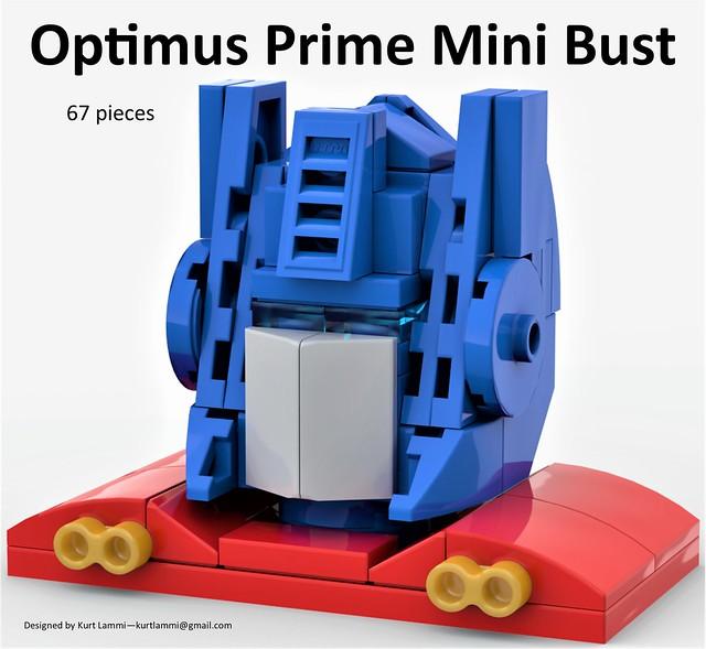 Optimus Prime Mini Bust
