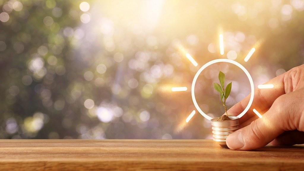 Stock imagery of lightbulb