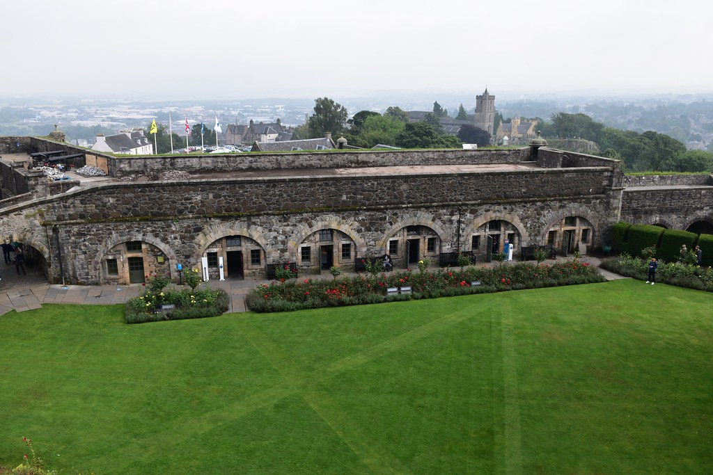 Stirling Castle Gardens