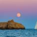 Navegando hacia la luna