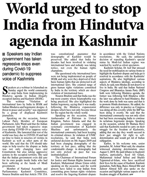 Daily Times 20 Sep 1