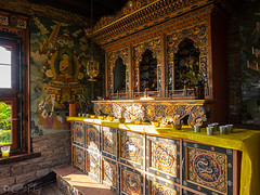 A Bhutanese temple in the Hinterlands of Bavaria