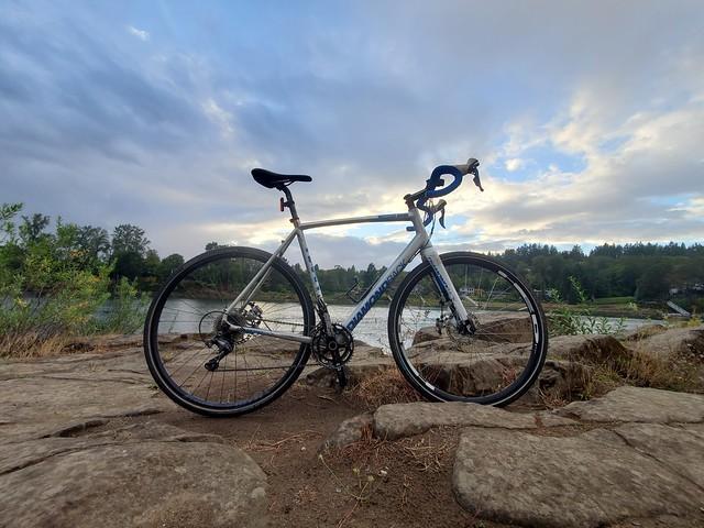 First Rainy Ride of the Season