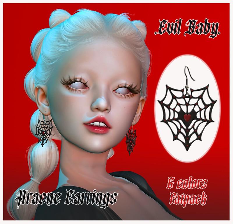 Evil Baby - Aracne Earrings
