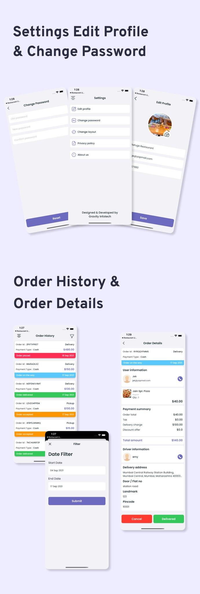 Multi-Branch Restaurant - iOS User + Delivery Boy + Vendor Apps With Laravel Admin Panel - 17