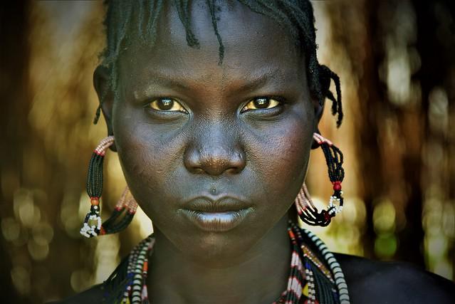 Jie ' woman South Sudan
