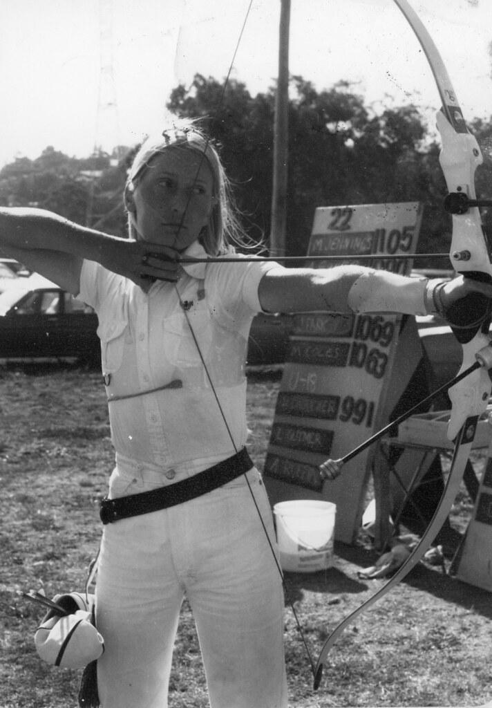 Moorabbin Archery Club 1980 Elizabeth Eadie At YB257