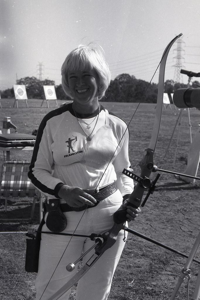 Moorabbin Archery Club 1980 Victorian Archers Carol Toy 773