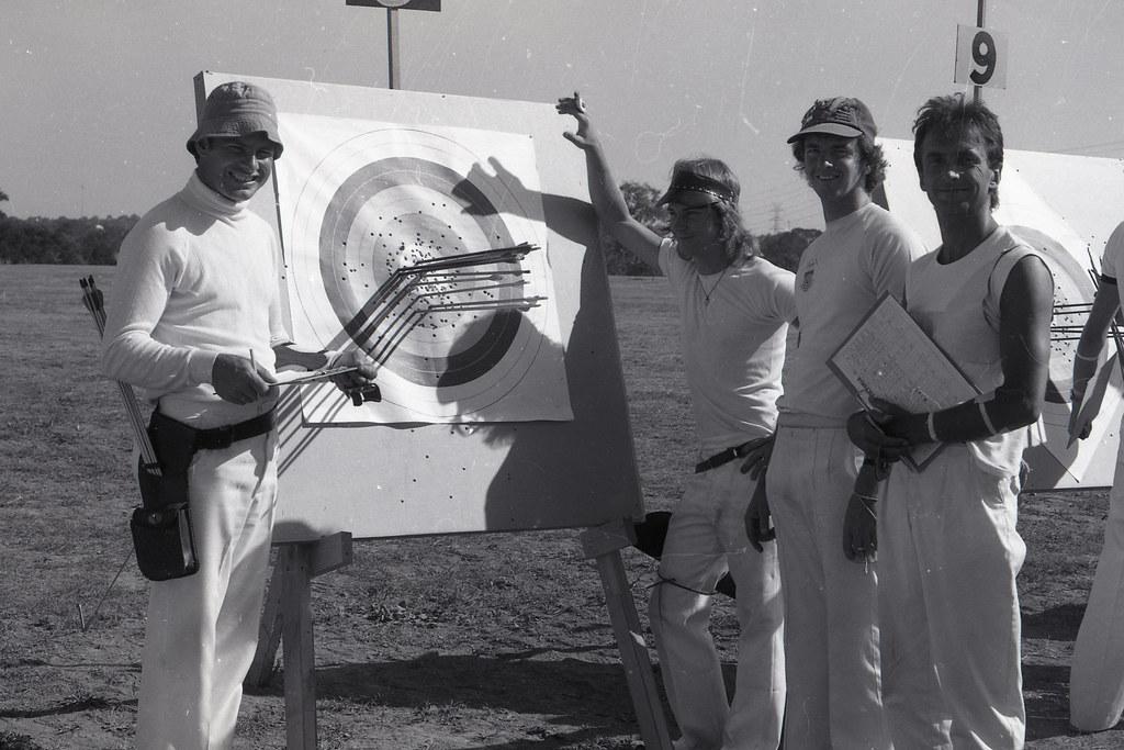 Moorabbin Archery Club 1980 Victorian Archers 769