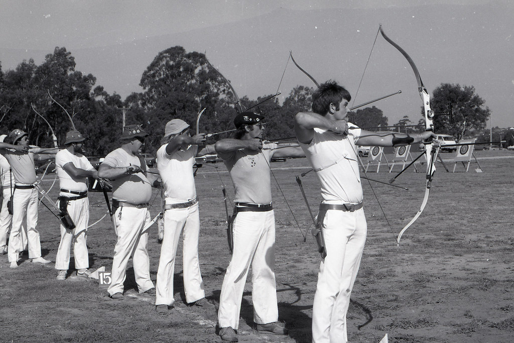 Moorabbin Archery Club 1980 Victorian Archers 764