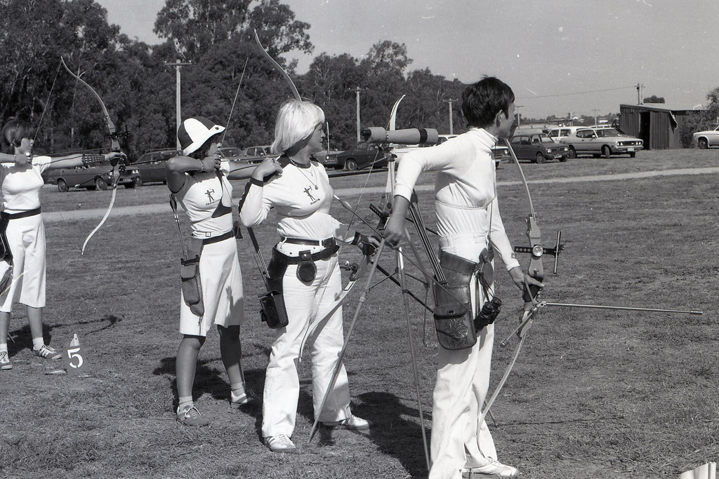 Moorabbin Archery Club 1980 Victorian Archers 762