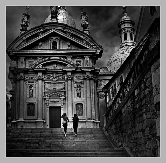 ascent to the cathedral