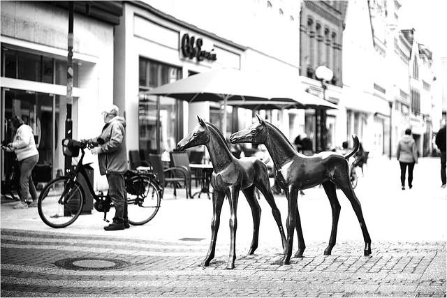 Fußgängerzone in Verden
