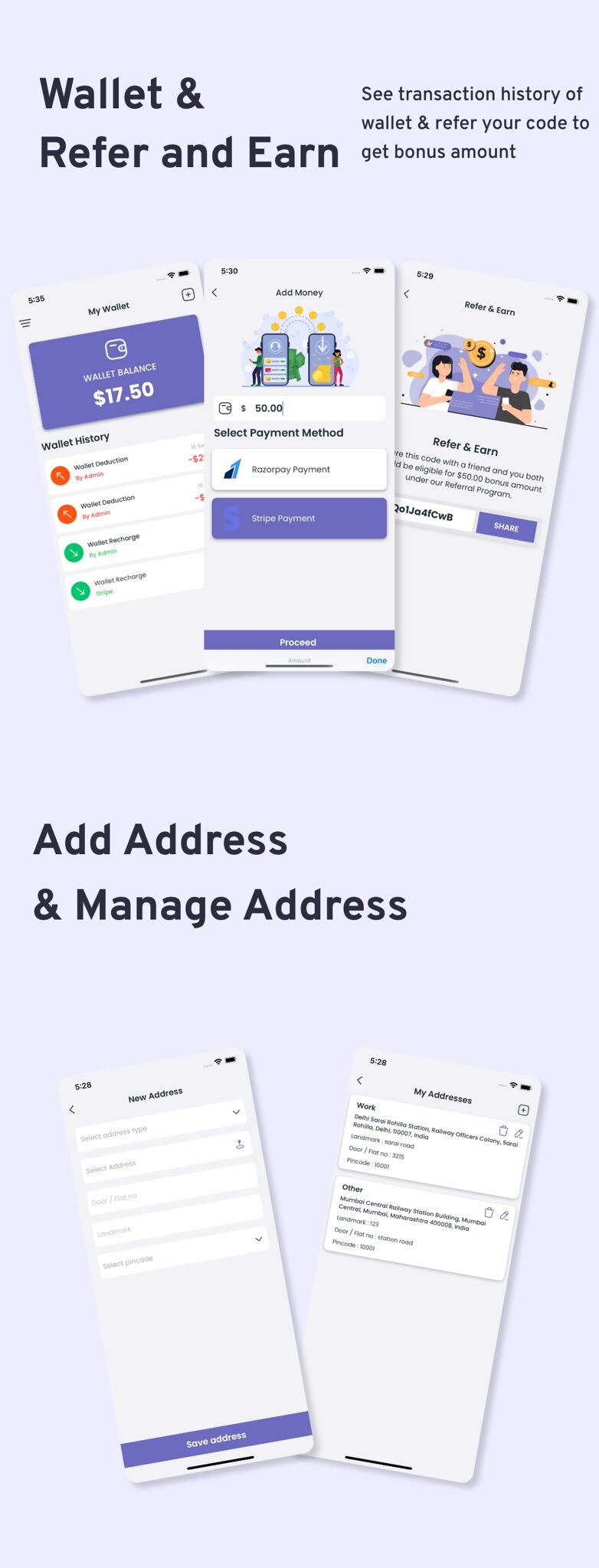 Multi-Branch Restaurant - iOS User + Delivery Boy + Vendor Apps With Laravel Admin Panel - 11