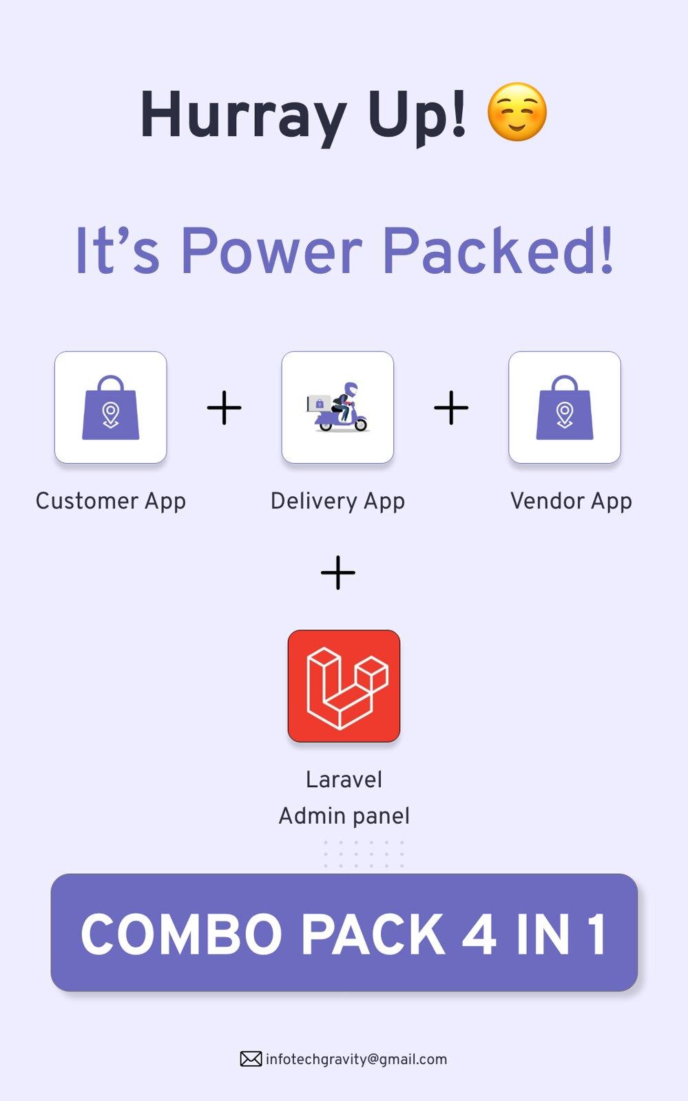 Multi-Branch Restaurant - iOS User + Delivery Boy + Vendor Apps With Laravel Admin Panel - 4