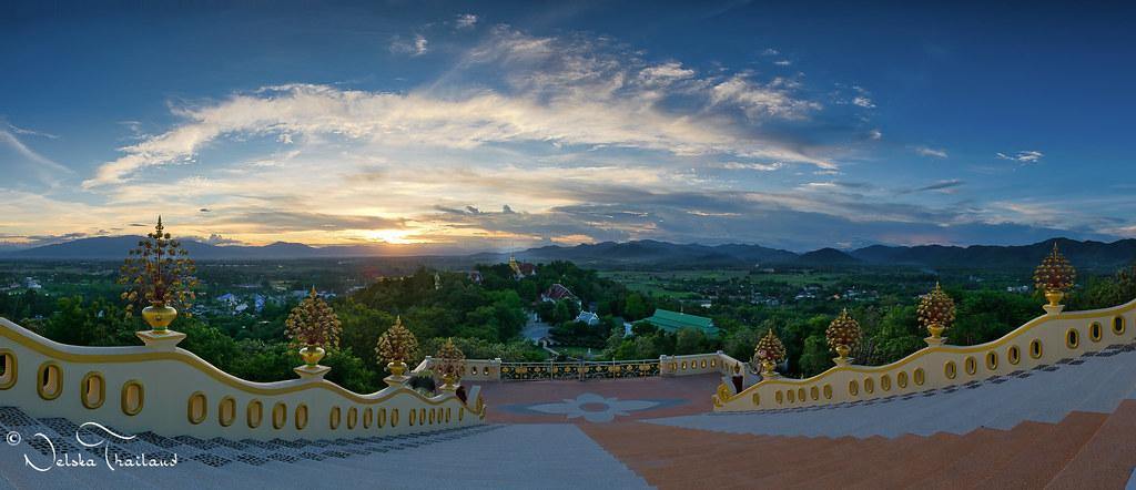 Doi Saket village from the big Buddha - Thailand