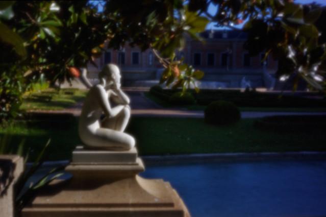 Barcelona. Palacete Albeniz. Pinhole o estenopeica. Canon digital. Imagen 4 de 7. 20-09-21
