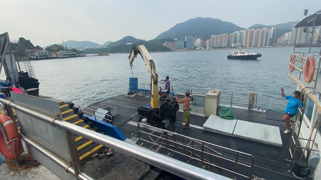 Ocean Imagineer construction