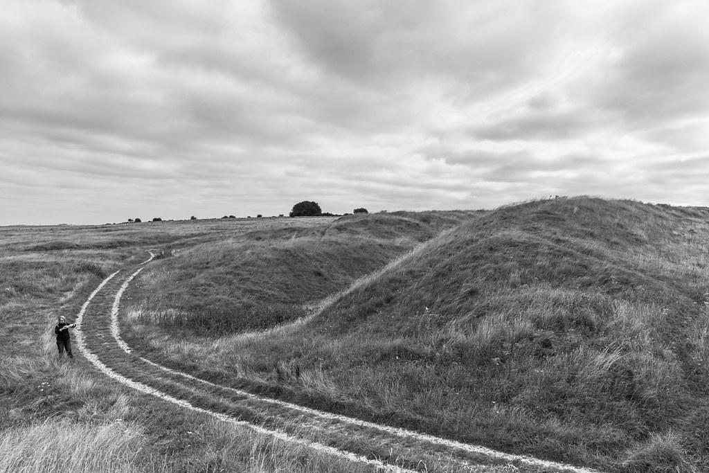 Oldbury Castle ramparts