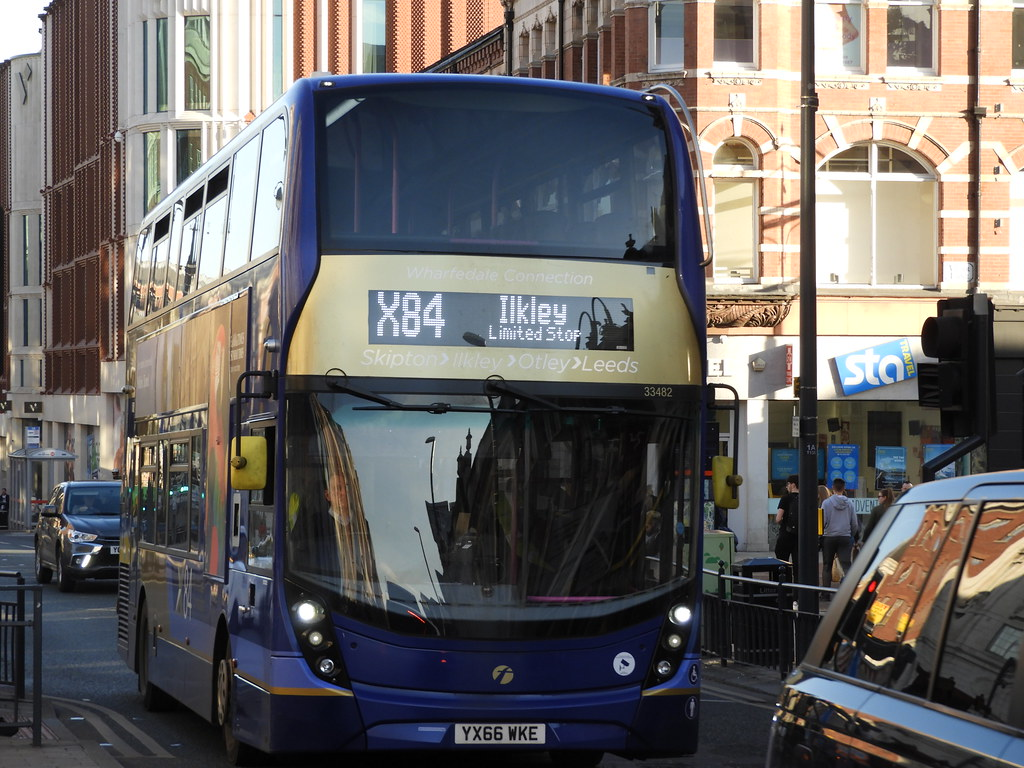 First West Yorkshire 'X84 Wharfdale Connection' 33482 - YX66 WKE