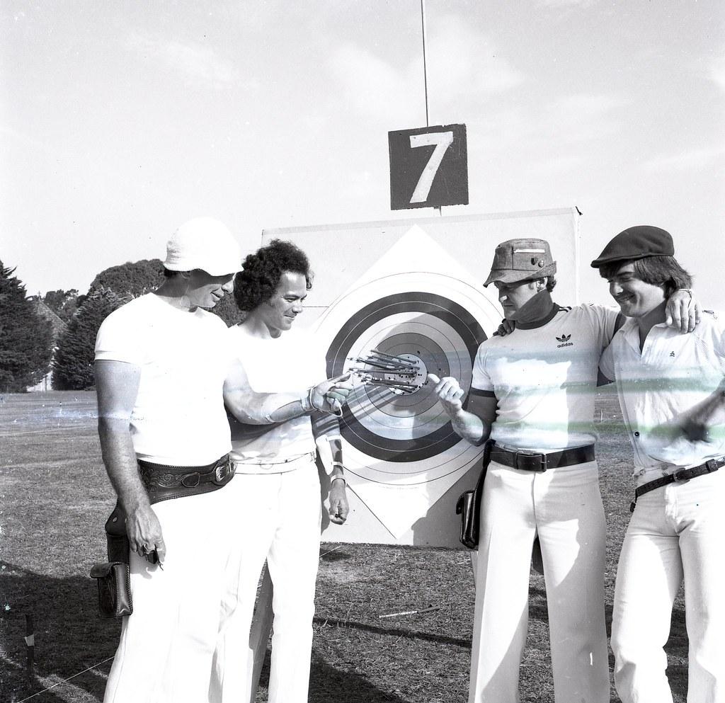 Moorabbin Archery Club 1980 Victorian Archers 781