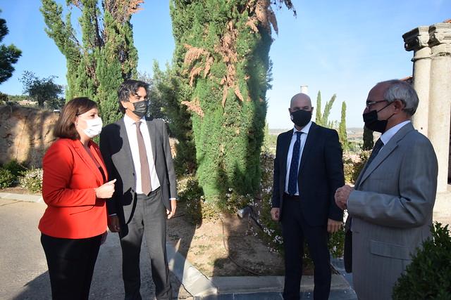 Reunión con el secretario de Estado de Economía y Apoyo a la Empresa y empresarios de la región