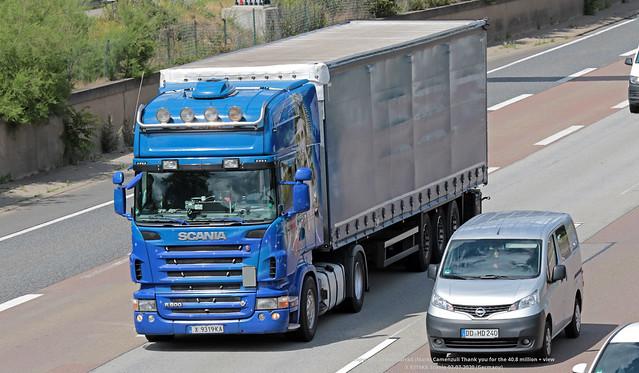 X 9319KA Scania 02-07-2020 (Germany)