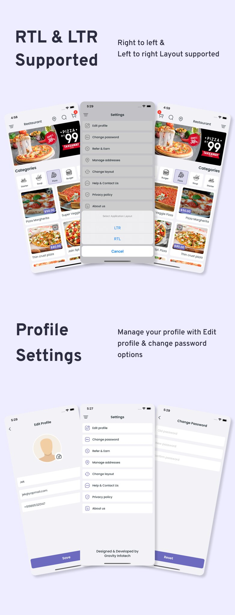 Multi-Branch Restaurant - iOS User + Delivery Boy + Vendor Apps With Laravel Admin Panel - 12