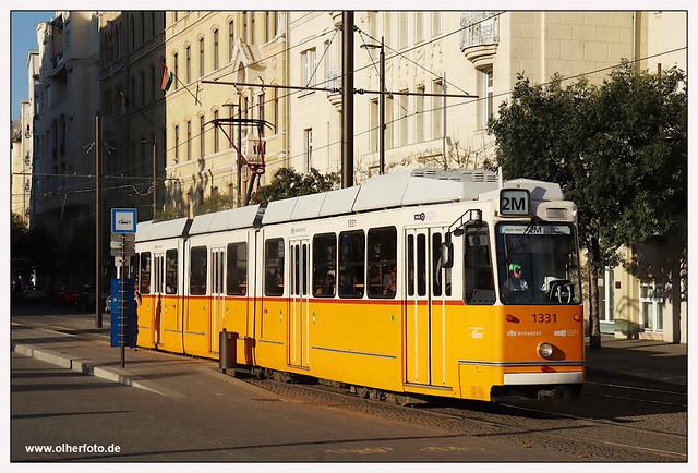 Tram Budapest - 2021-01