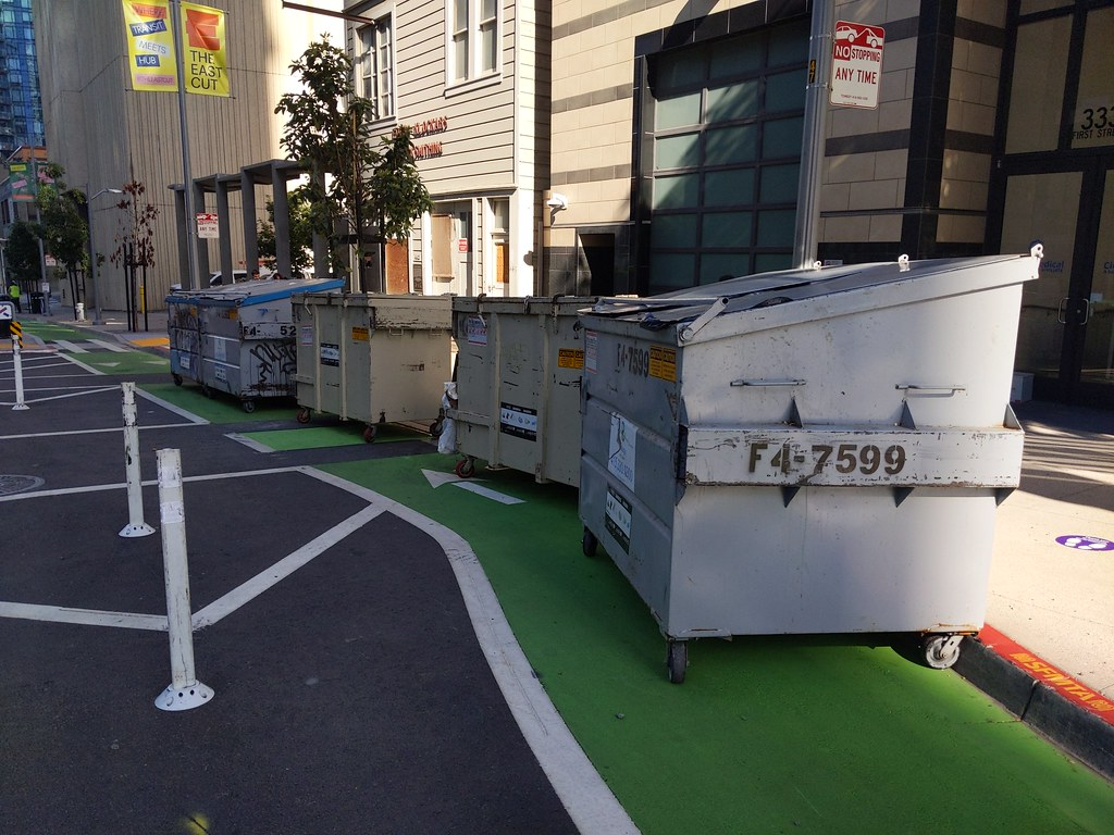 #ZeroVision Dumpsters