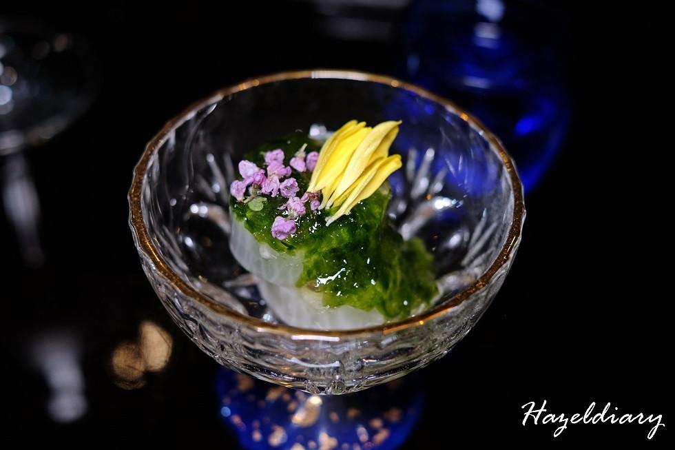 SAKEMARU Artisan Sake- Horse Mackerel Wrapped in Radish