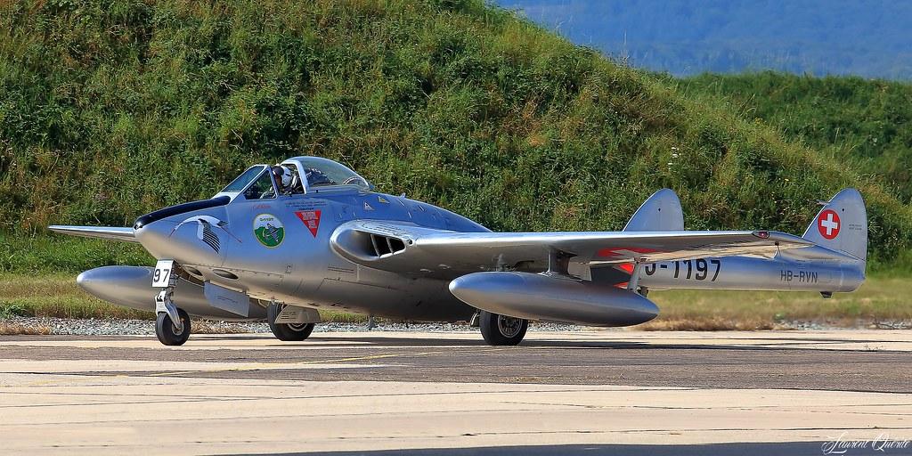 HB-RVN / J-1197 / 706 - De Havilland DH 100 Vampire FB.6