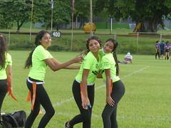 Managua Lady Eagles American Flag Football