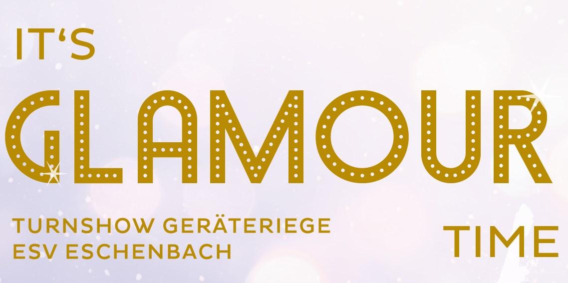 It's Glamour Time, Turnshow Geräteriege, 24.10.2021