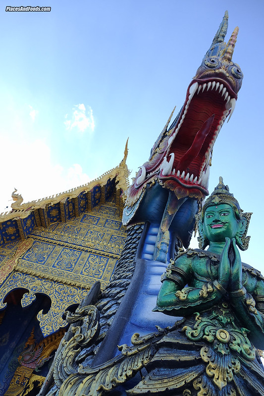 Wat Rong Suea Ten Blue Temple Chiang Rai
