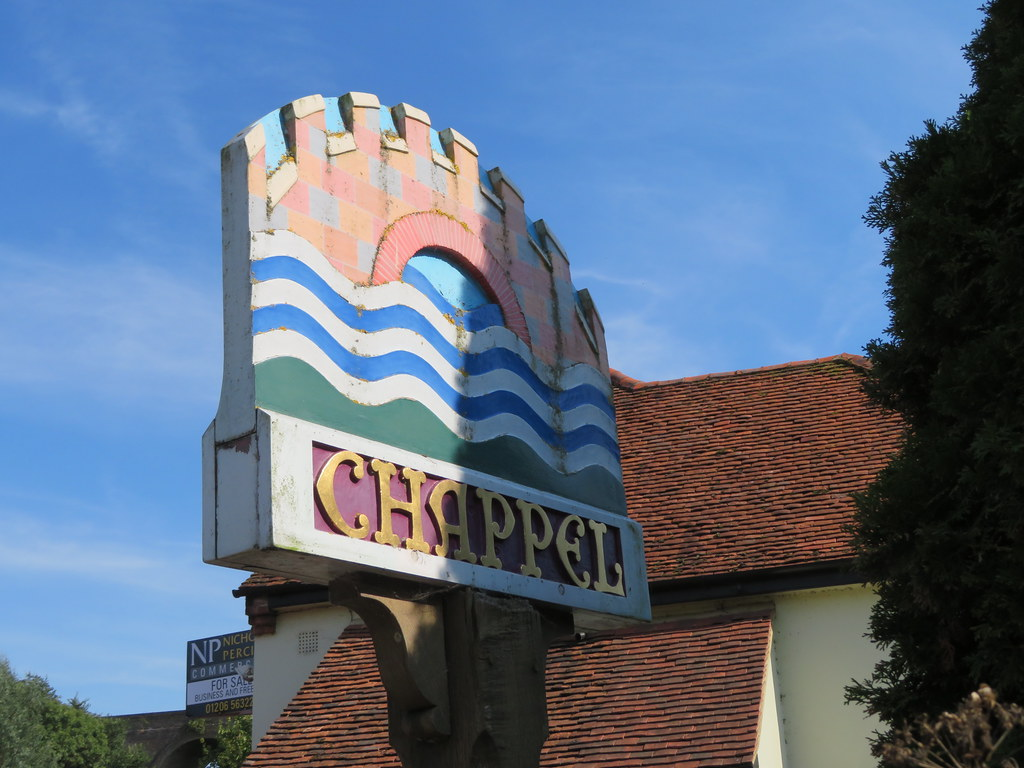 UK - Essex - Chappel - Village sign