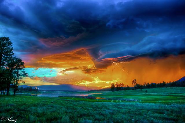 Thunder Storm, Alpine, Arizona