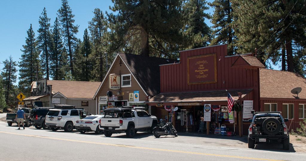 Big Bear Lake / downtown Fawnskin (# 0912)